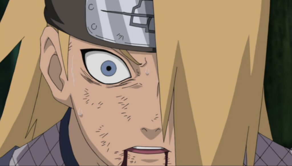 This is why Sasuke was able to summon Manda even without ...