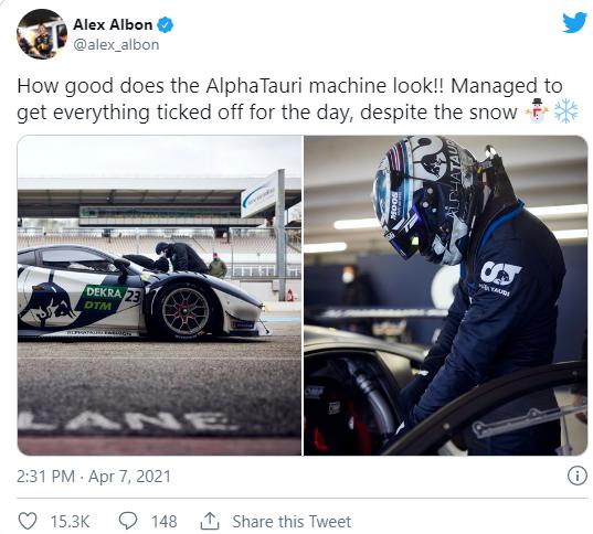Alex albon