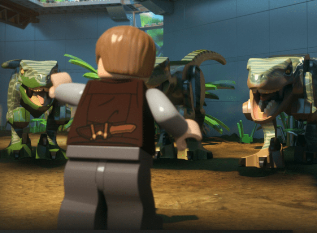 LEGO Jurassic World: Escape from the Indominus
