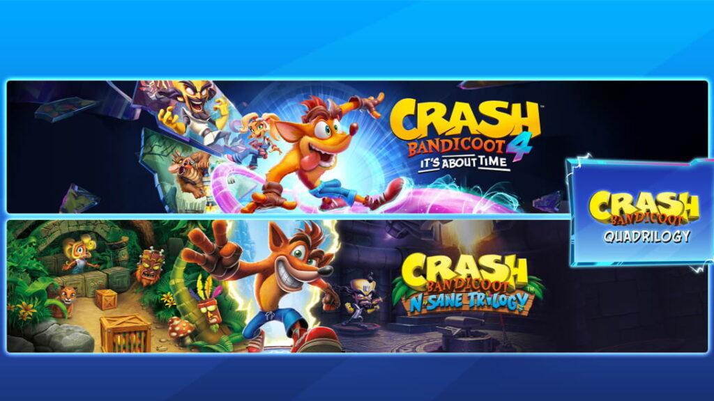 25 years of Crash Bandicoot