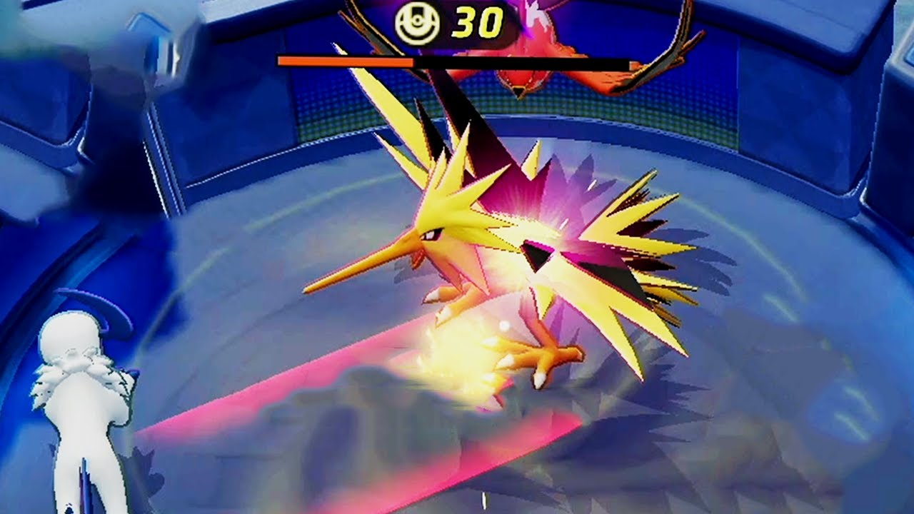 Pokemon Unite Switch - Slowbro & amp;  Zapdos Gameplay Online Match Gameplay No Commentary Walkthrough - YouTube