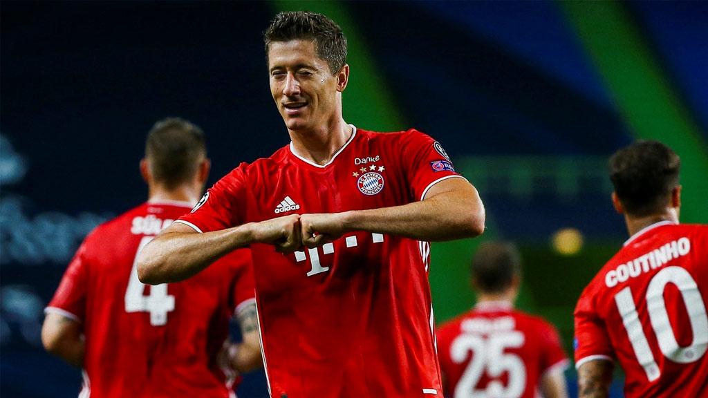Robert Lewandowski, the highest paid of Bayern Munich