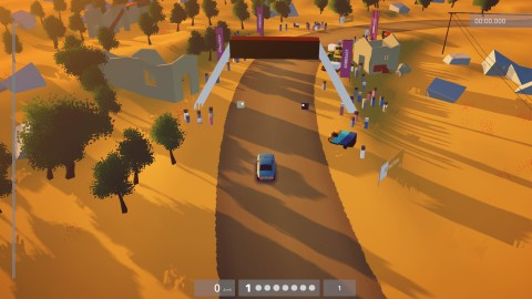 art of rally: dry breakdown for Xbox One version
