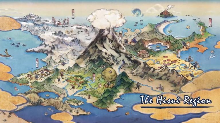 Pokémon Legends Arceus: Hisui Card