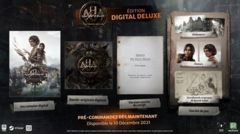 Syberia the World Before: an icy release date for the continuation of Kate Walker's adventures