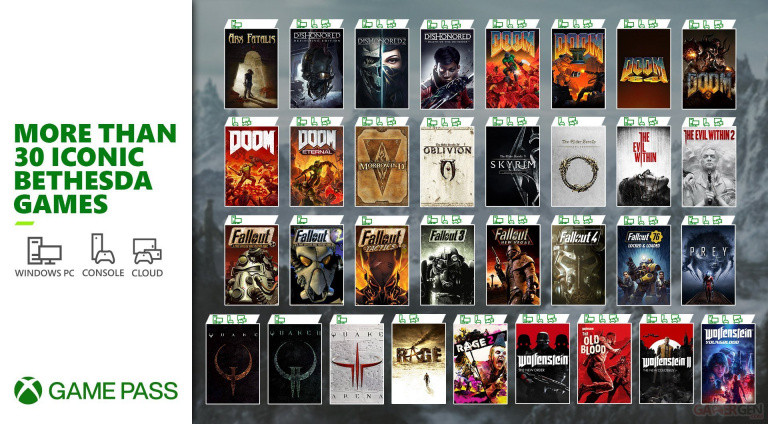 Xbox Game Pass: Three Cult Bethesda FPS Added to QuakeCon Catalog