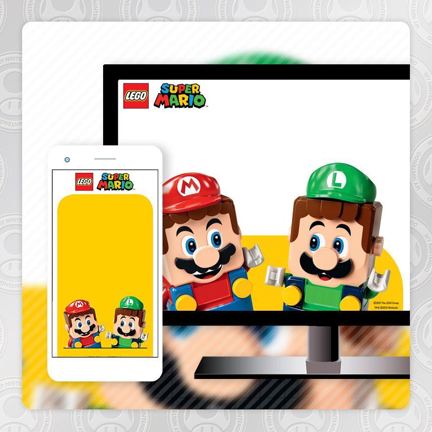 Wallpaper - LEGO® Super Mario ™: Mario and Luigi