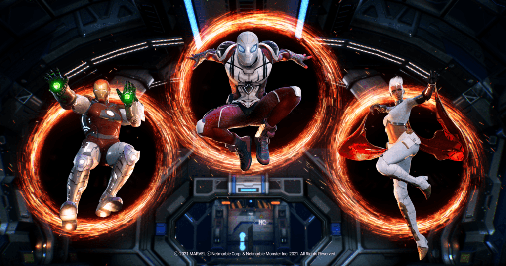 Marvel Future Revolution available ios android