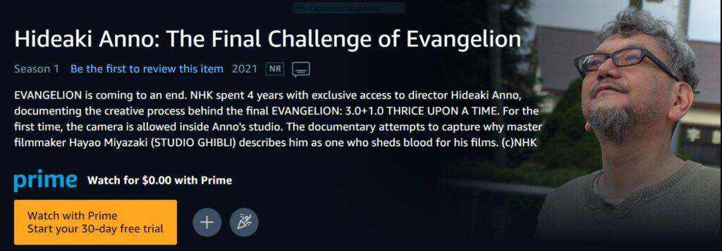 """creator of """"Evangelion"""""""
