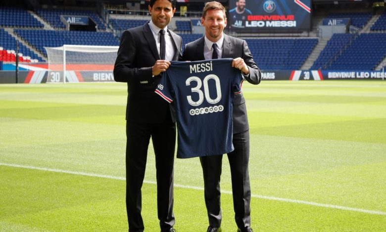 messi is ready to debut in PSG football radio formula 1200x800