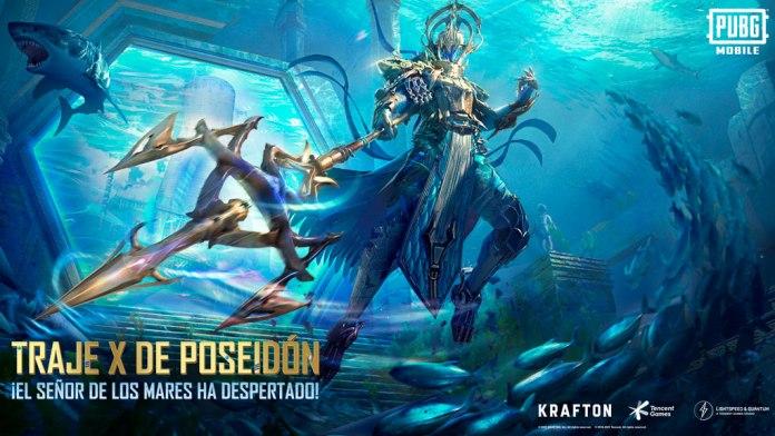 PUBG Mobile Releases New Poseidon 1 Suit X