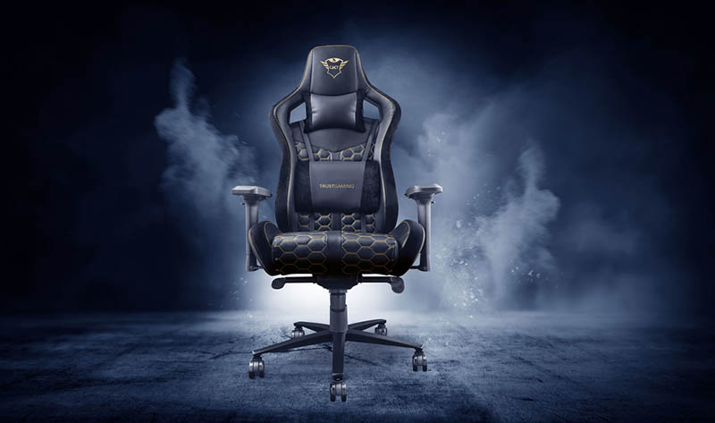 gaming chairs trust gxt 712 resto pro