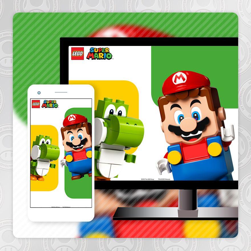 Wallpaper - LEGO® Super Mario ™: Mario and Yoshi