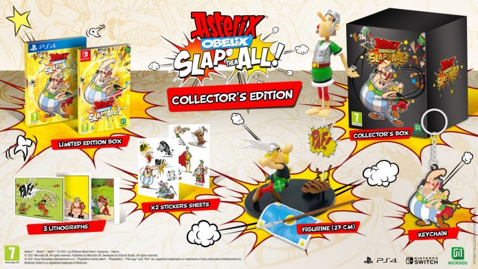 Asterix & Obelix: Slap Them All!  already has a release date 1