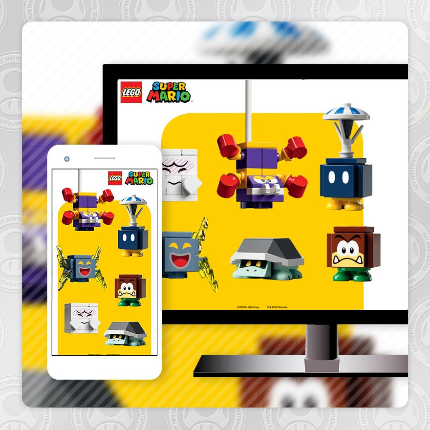 Wallpaper - LEGO® Super Mario ™: Enemies