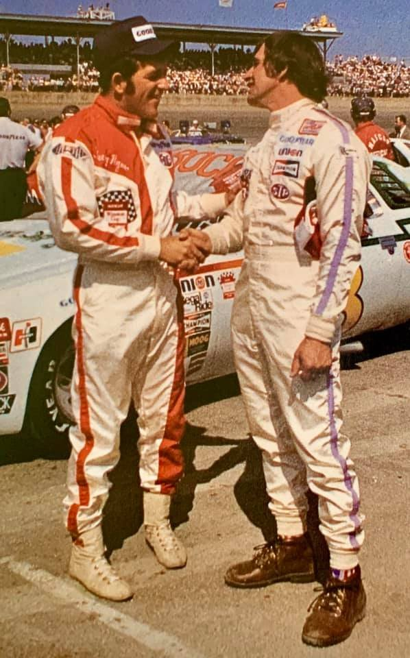 The drivers that started on the front row for the 1976 Daytona 500, Terry Ryan & Ramo Stott.