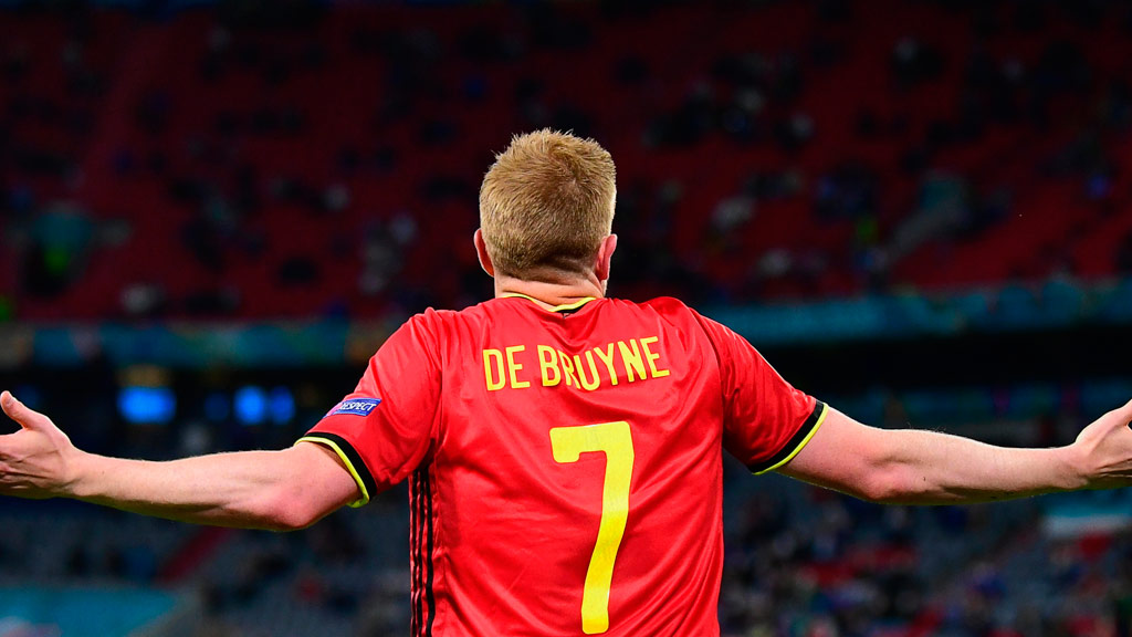 Kevin De Bruyne, one of the aspiring player of the year in UEFA this 2021