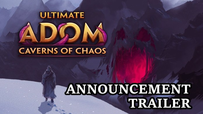 Last ADOM - Caverns of Chaos Now available on Steam And comes with the DLC