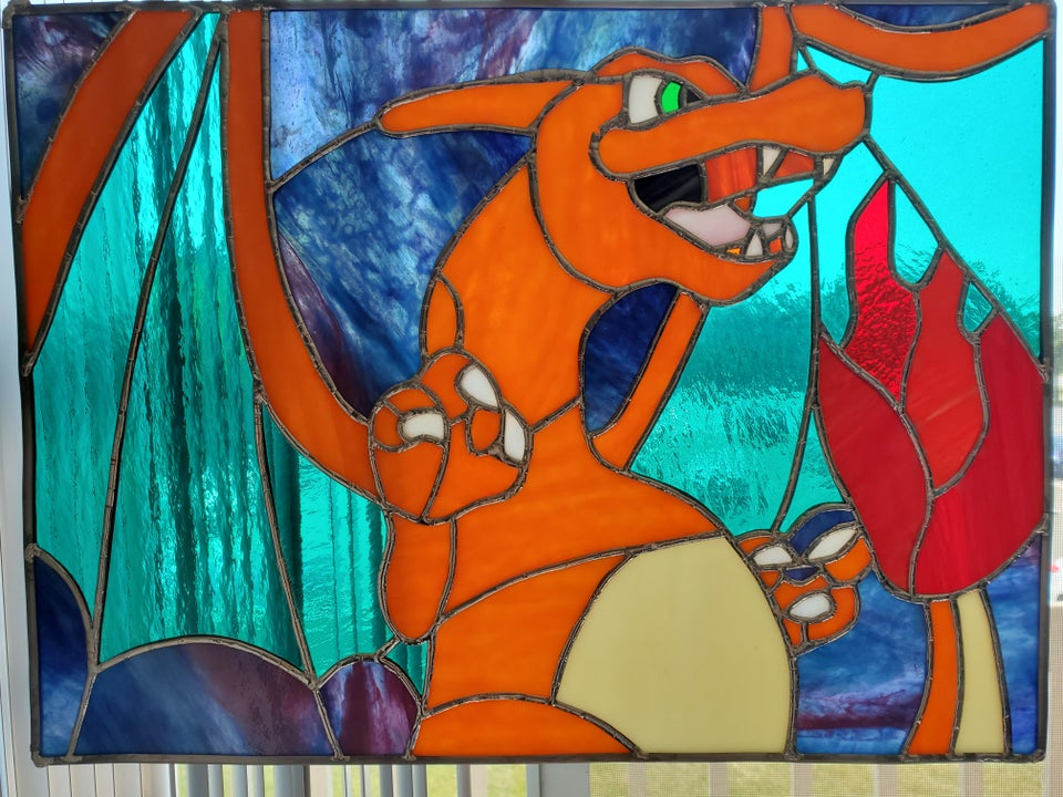 r / pokemon - My fiance doesn't use reddit, but I'd like to share some of his stained glass work.  I am very proud of her and it is amazing what she has the ability to do.  Enjoy everyone!